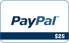 $25 Paypal cash